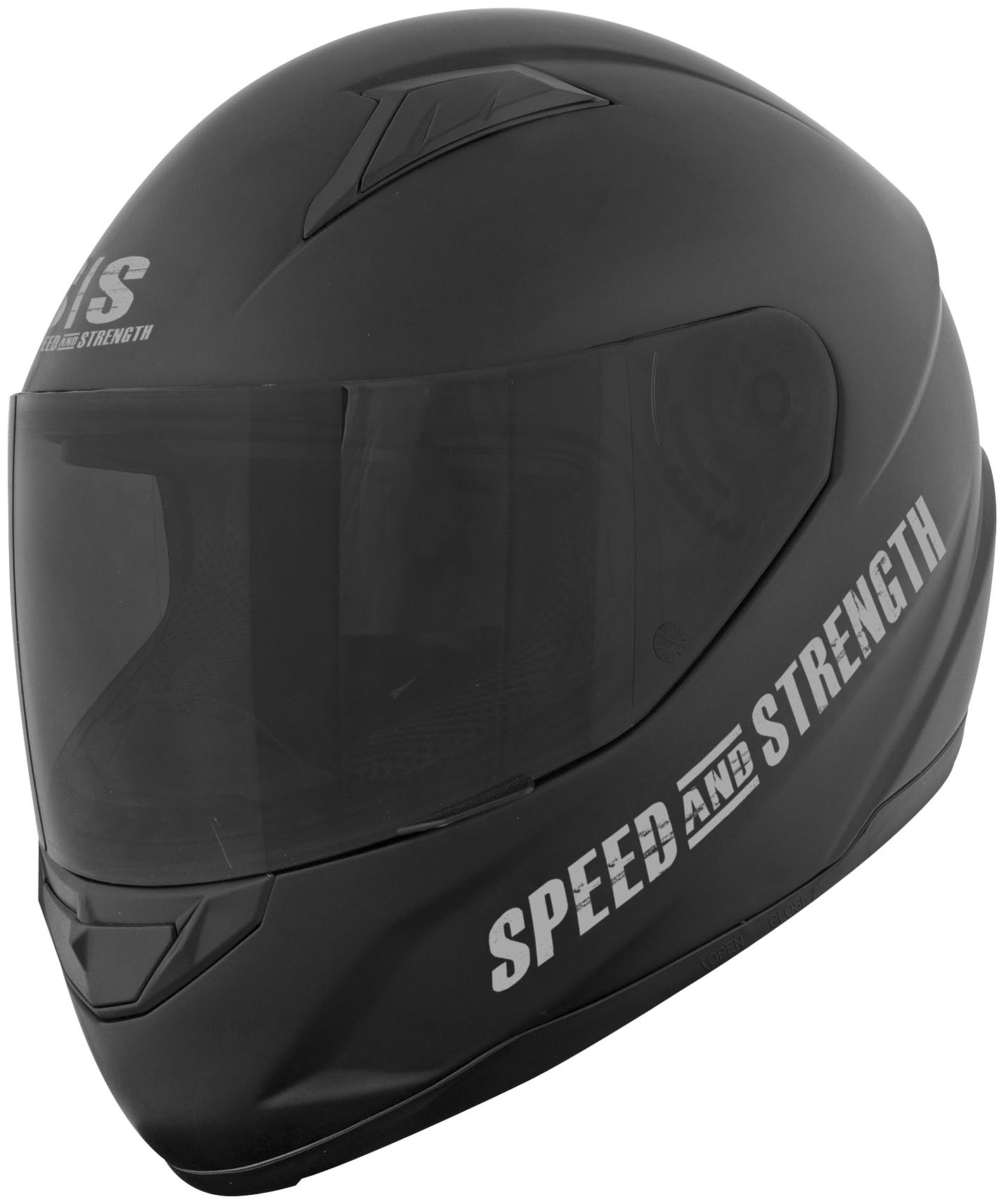 Off the chain ss1500 full face motorcycle helmet matte black