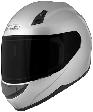 Speed & Strength SS700 Full Face Motorcycle Helmet - Silver