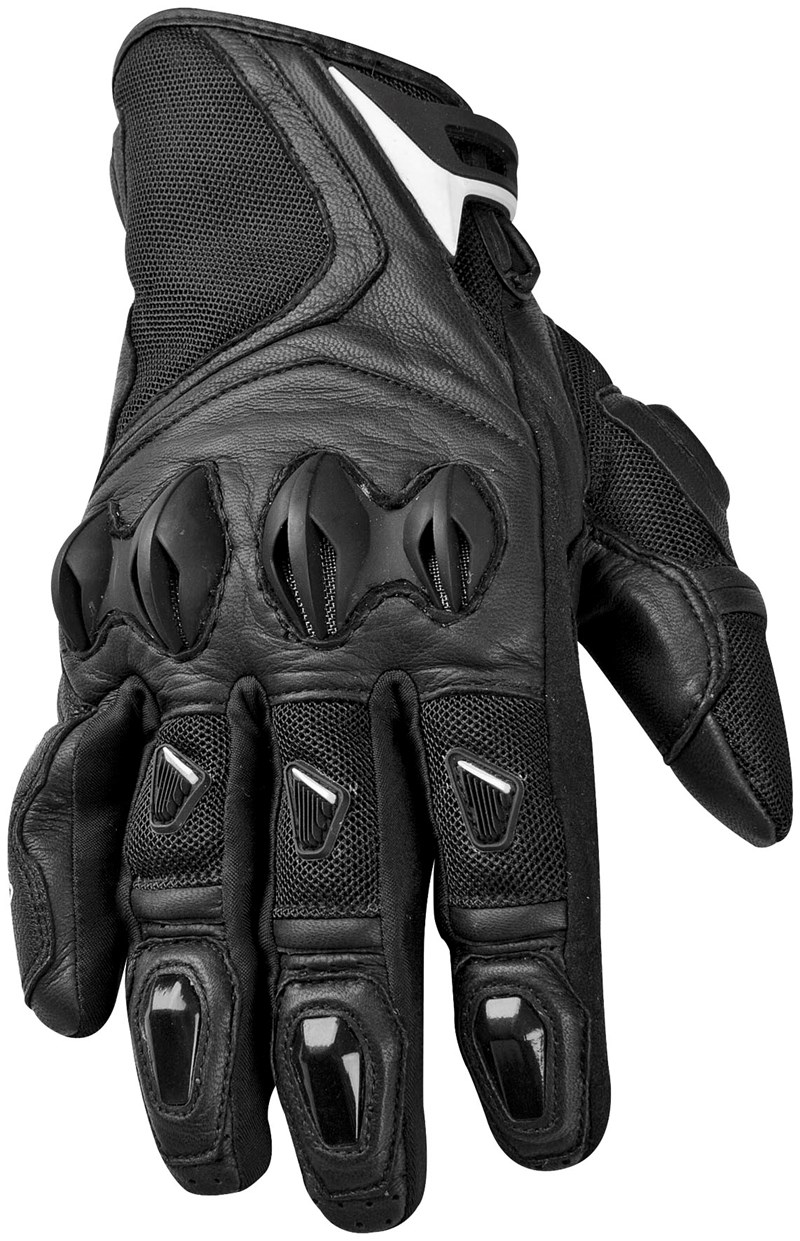 Buy leather motorcycle gloves - Speed Strength Trial By Fire Motorcycle Gloves Black