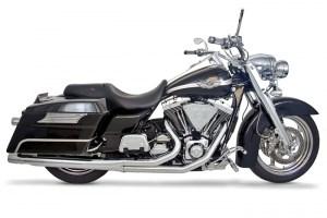 Samson Caliber 2 into 1 Exhaust System - Harley Davidson Touring (85-06)