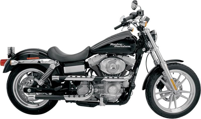 Supertrapp Three Shield X Pipes Exhaust Harley Davidson