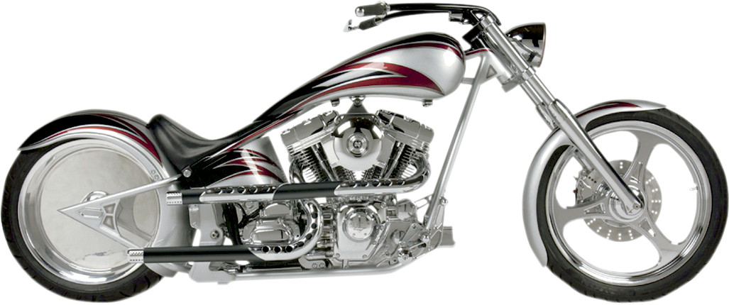 Supertrapp Three Shield X Pipes Exhaust Harley Davidson Softail 8611: Harley Davidson Exhaust Pipes For Softail At Woreks.co
