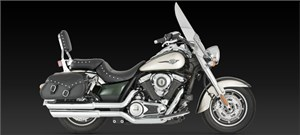 Vance & Hines Big Shots Staggered - Kawasaki Vulcan 1700 (09-11)
