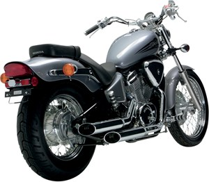 Vance & Hines Cruzers Slip-On Exhaust - Honda Shadow VLX 600 (98-07)