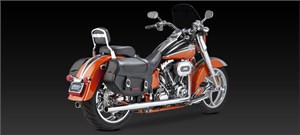 Vance & Hines Dual Exhaust - Harley Davidson Softail (97-11)