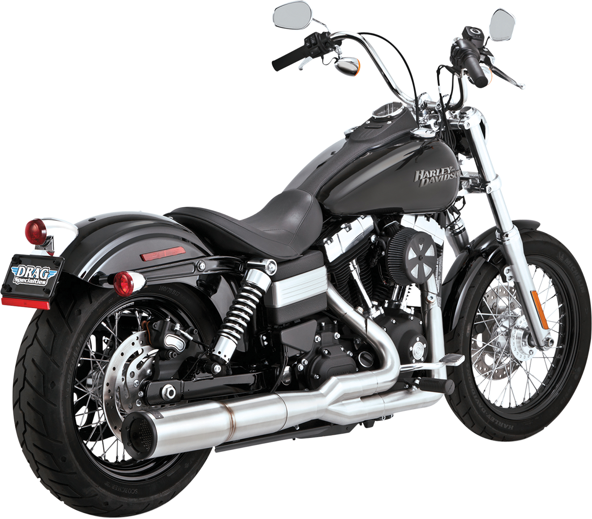 What Is Efficiency >> Vance & Hines Stainless Hi-Output 2-Into-1 Exhaust ...
