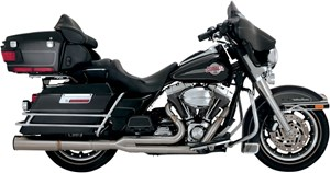 Vance & Hines Stainless Hi-Output 2-Into-1 Exhaust - Harley Davidson Touring (99-08)
