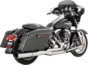 Vance & Hines Stainless Hi-Output 2-Into-1 Exhaust - Harley Davidson Touring FL (09-13)