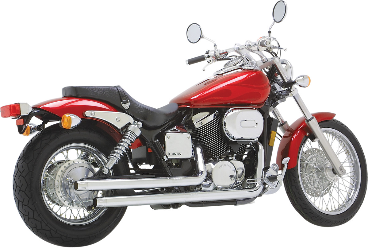 vance hines straightshots exhaust honda shadow spirit 750. Black Bedroom Furniture Sets. Home Design Ideas