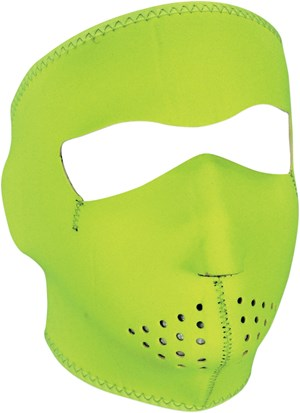 Zan Headgear Motorcycle Face Mask - Hi-Viz Yellow