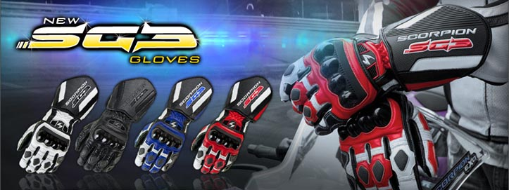 Buy Scorpion SG3 Motorcycle Gloves at Biker Performance